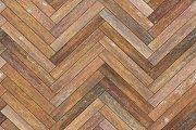Seamless wood parquet texture (herringbone old)