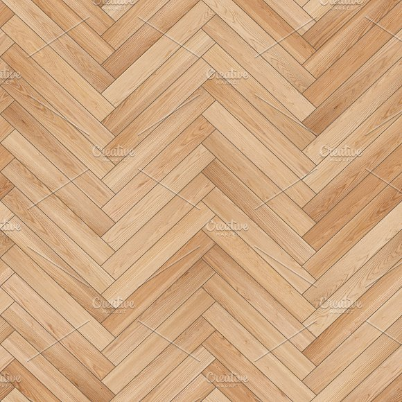 Seamless Wood Parquet Texture Herringbone Sand Color Textures