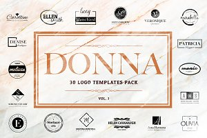 Donna - Logo Templates Pack Vol.1