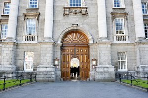 Trinity College entrance