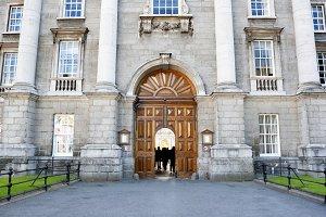 Trinity College entrance