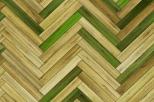 Seamless wood parquet texture (herringbone various)