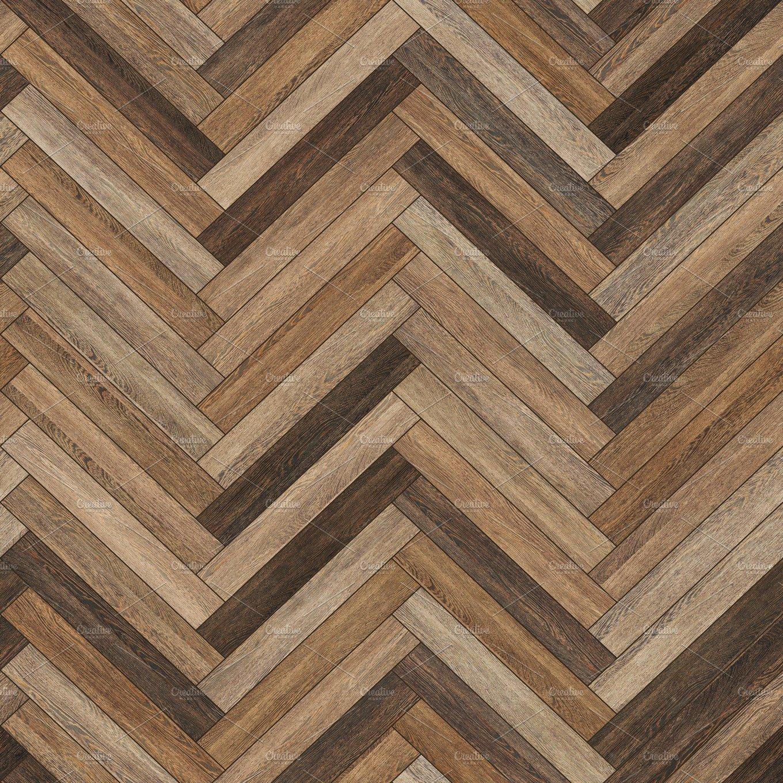 Seamless wood parquet texture (herringbone various) ~ Textures ~ Creative Market