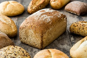 Mixed bread