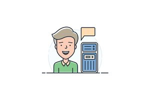 Server hosting support