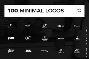 100 Minimal Logo Templates