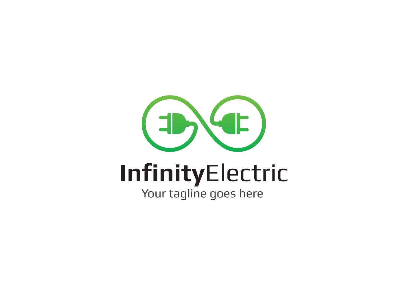 Infinity Electric Logo Logo Templates Creative Market