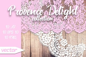 Provence Delight Laces Collection