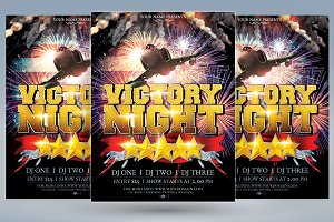 Victory Night Flyer