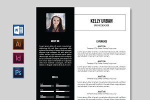 Minimalist Resume / CV - 2 Versions
