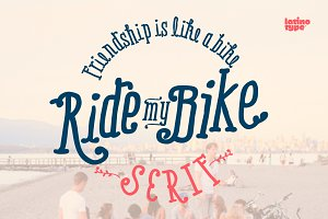 Ride My Bike Serif Pro