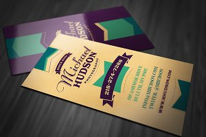 Retro Business Card 3