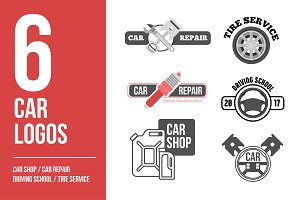 Car logo vector set. Car service