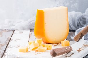 Delicious Gouda cheese