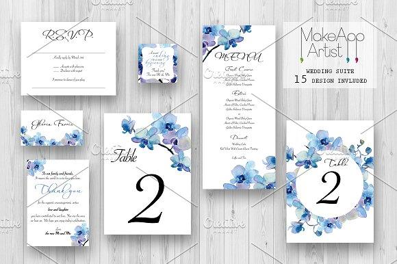 Wedding Invitation Suite - Rebecca in Invitation Templates - product preview 1