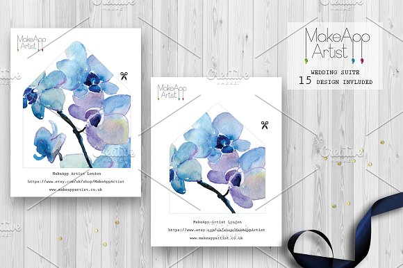 Wedding Invitation Suite - Rebecca in Wedding Templates - product preview 2