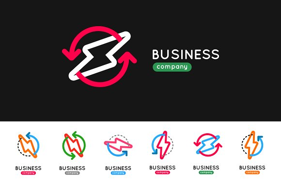 Thunderbolt Business Logo