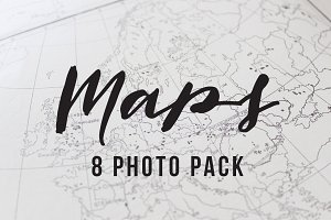 Maps 8 photo pack