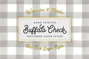 Buffalo Check Photoshop Layer Styles
