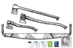 Lumberjack tools