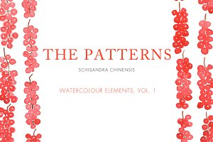 Watercolour Patterns, Vol. 1