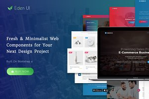 Eden UI Kit 2.0 - Website Builder