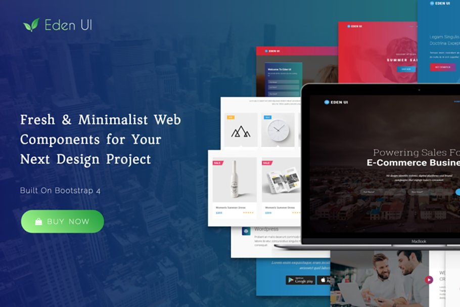Eden UI Kit 2 0 - Website Builder