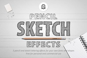 Pencil Sketch Effects