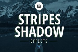 Stripes Shadow Effects
