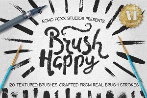 Realistic Textured Brush Kit