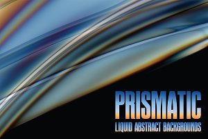 12 Prismatic Abstract Backgrounds