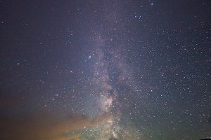 When Milky Way and Heavens align...