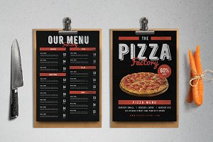 Pizza Factory Menu