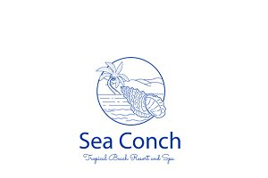 Sea Conch Logo