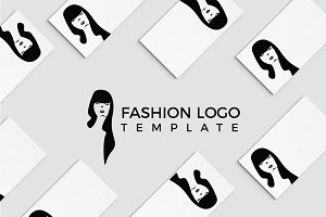 Fashionista Logo Template