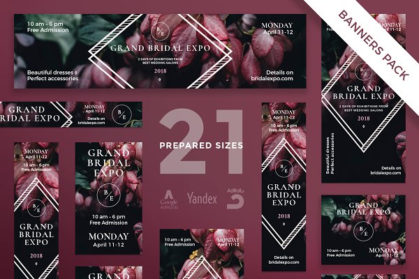 Banners Pack   Bridal Expo