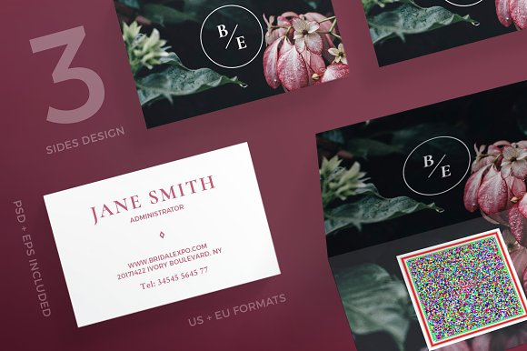 Business Cards Bridal Expo