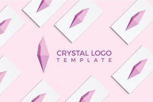 Crystal Logo Template