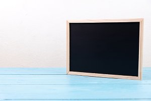 small wooden black board