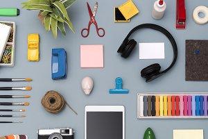 creative social media template