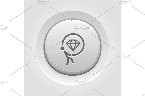 Offer Icon Flat Design
