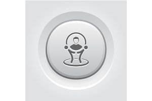 Customer Service Icon. Business Concept