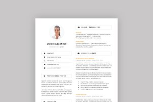 Professional Resume Template 06