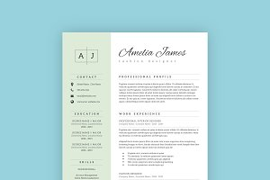 Professional Resume Template 07