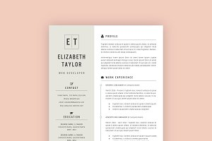 Professional Resume Template 10