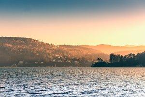 Evening / Lake / Panorama