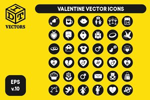 Valentine Vector (Icons)