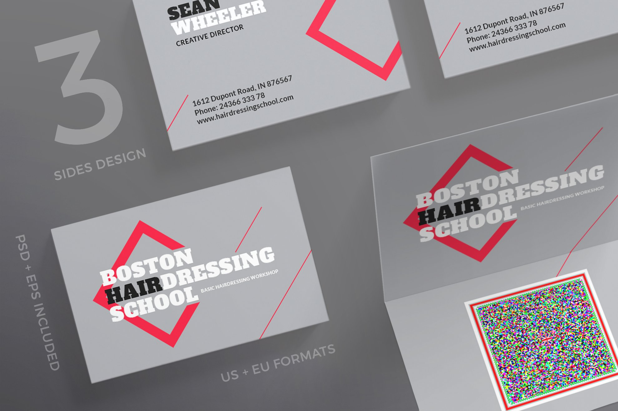 Business Cards | Hairdressing ~ Business Card Templates ~ Creative ...