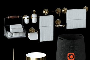 Suite for bathrooms for Vray, Corona