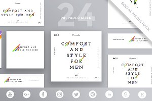 Social Media Pack | Style For Men